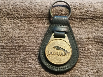JAGUAR key ring (circa 1980)