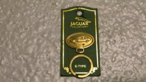 Key ring JAGUAR Type E